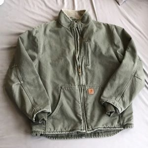 Carhartt men's Sherpa lined coat